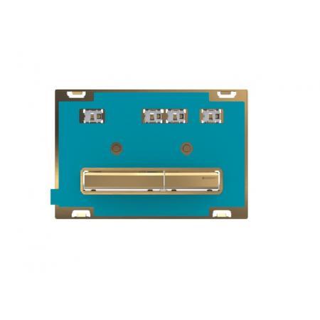 Geberit Sigma50 Przycisk spłukujący uniwersalny/mosiądz 115.672.00.2
