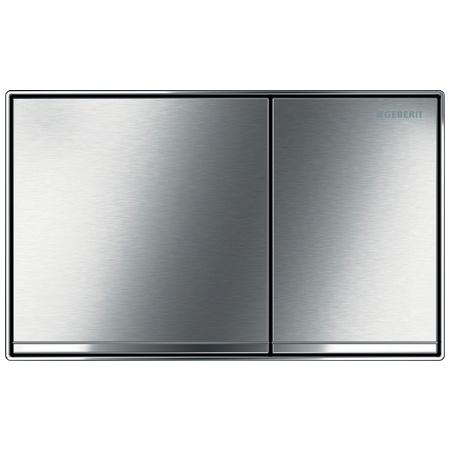 Geberit Sigma60 Przycisk spłukujący do WC, chrom szczotkowany 115.640.GH.1