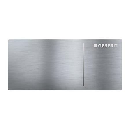Geberit Sigma70 Przycisk spłukujący do WC typ 70 zdalny, stal nierdzewna szczotkowana 115.635.FW.1