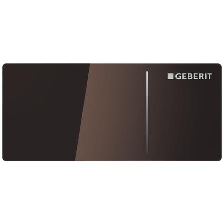 Geberit Sigma70 Przycisk spłukujący do WC typ 70 zdalny, szkło umbra 115.630.SQ.1