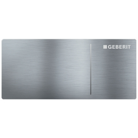 Geberit Sigma70 Przycisk spłukujący do WC typ 70 zdalny, stal nierdzewna szczotkowana 115.630.FW.1