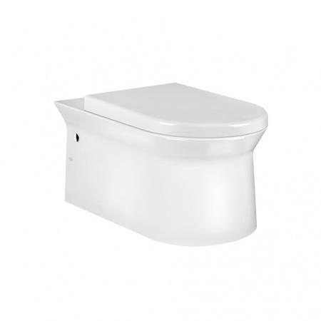 Gessi Cono Miska WC wisząca 56,8x35,3 cm, biała white Europe Ceramic 45933.518