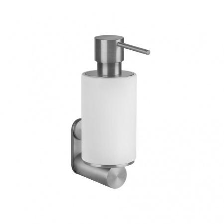 Gessi Dozownik do mydła ścienny, stalowy szczotkowany steel brushed 54713.239