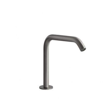 Gessi Flessa Wylewka umywalkowa stojąca 15,6 cm, stalowa szczotkowana steel brushed 54091.239