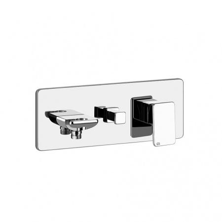 Gessi Ispa Jednouchwytowa bateria wannowo-prysznicowa podtynkowa, chrom 44902.031