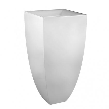 Gessi Mimi Umywalka wolnostojąca 45x45 cm bez przelewu, bez otworu, biała Ceramilux 37501.517