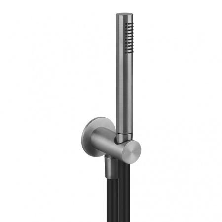 Gessi Zestaw prysznicowy, stalowy szczotkowany steel brushed 54023.239