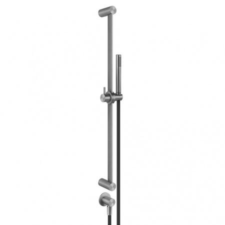 Gessi Zestaw prysznicowy, stalowy szczotkowany steel brushed 54045.239
