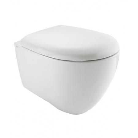 Globo Bowl+ Toaleta WC podwieszana 55x38 cm Senzabrida bez kołnierza, biała SBS05.BI