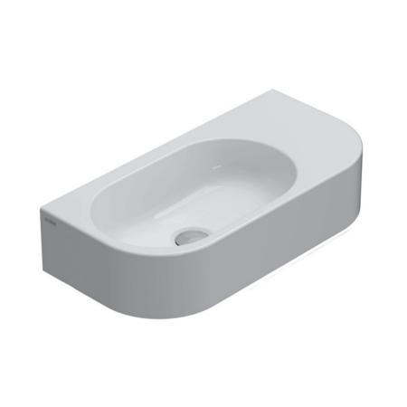 Globo Forty3 Umywalka wisząca wąska 55x27 cm biała SCT55.BI