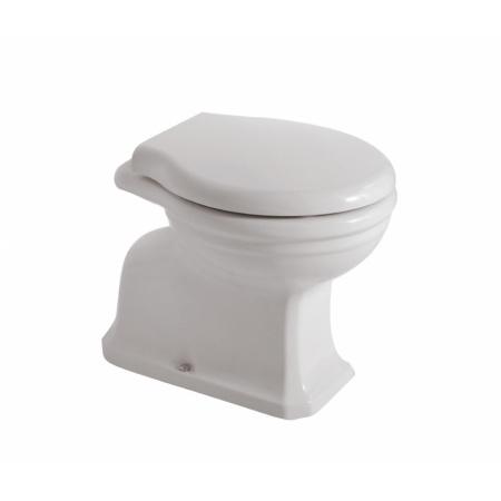 Globo Paestum Toaleta WC stojąca 56x37x40 cm montaż ścienny, biała PA002.BI