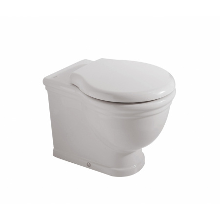 Globo Paestum Toaleta WC stojąca 57x38x41 cm, biała PA025.BI