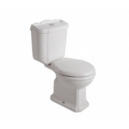 Globo Paestum Toaleta WC stojąca 67x38x40 cm odpływ poziomy, biała PA004.BI