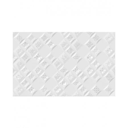 Golden Tile Relax Aura Dekor ścienny 25x40 cm, biały 490401