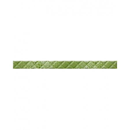 Golden Tile Relax Aura Listwa ścienna 3x40 cm, zielona 494411