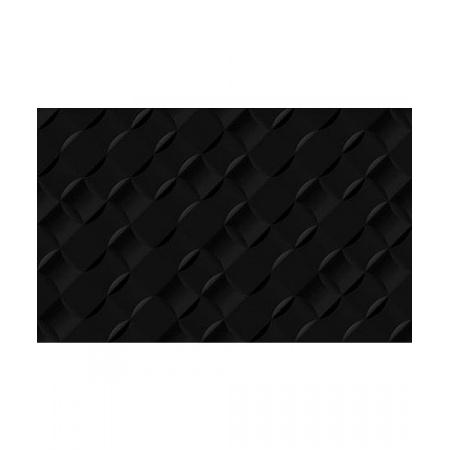 Golden Tile Relax Aura Płytka ścienna 25x40 cm, czarna 49С061