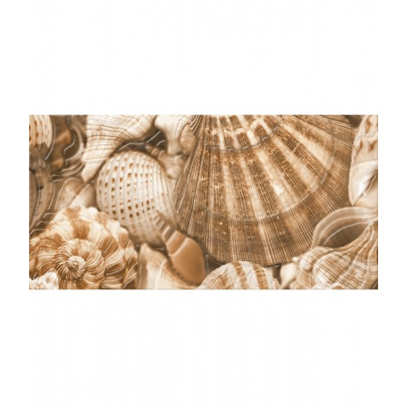 Golden Tile Sea Breeze Shells 3 Dekor ścienny 30x60 cm, beżowy E11431