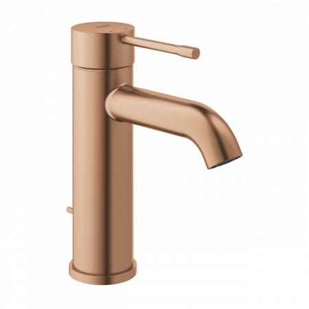 Grohe Essence Bateria umywalkowa z korkiem brushed warm sunset 23589DL1