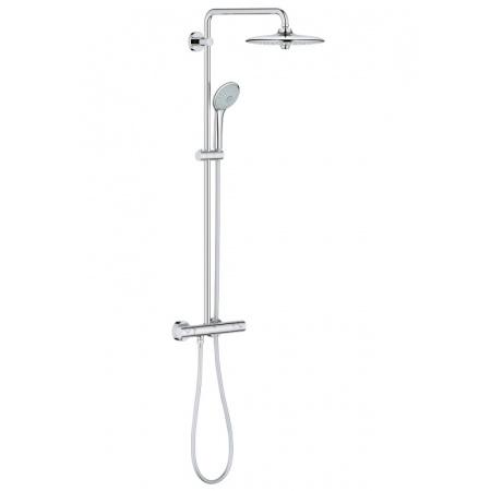 Grohe Euphoria 260 Zestaw prysznicowy natynkowy z termostatem z deszczownicą chrom 27296002