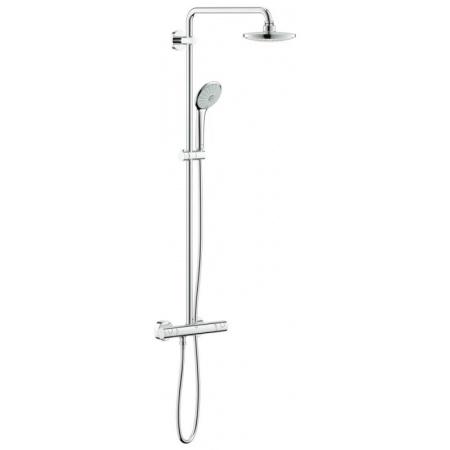 Grohe Euphoria System 180 Zestaw prysznicowy z termostatem, chrom 27296001