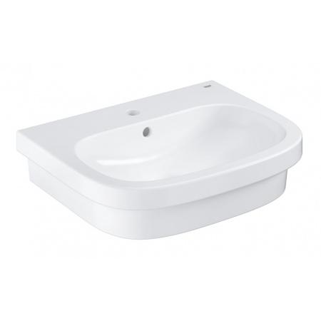 Grohe Euro Ceramic Umywalka nablatowa 59,6x48,3 cm z otworem na baterię z przelewem PureGuard, biała 3933700H