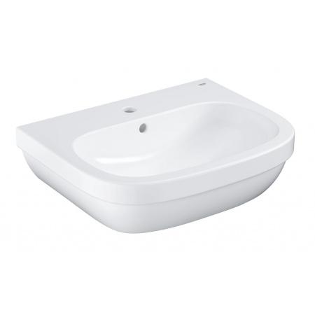 Grohe Euro Ceramic Umywalka wisząca 59,5x48,2 cm z otworem na baterię z przelewem PureGuard, biała 3933500H