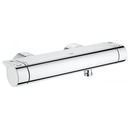 Grohe Grohtherm 2000 Dwuuchwytowa bateria prysznicowa natynkowa termostatyczna, chrom 34169001