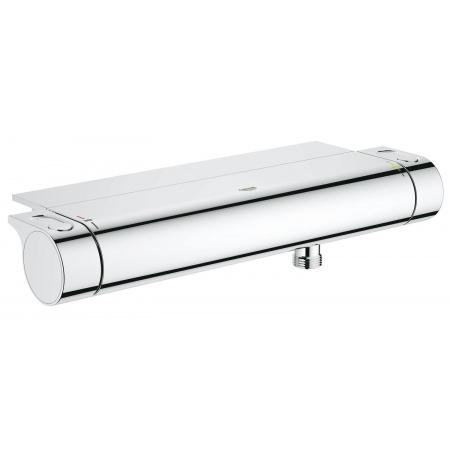 Grohe Grohtherm 2000 Dwuuchwytowa bateria prysznicowa natynkowa termostatyczna, chrom 34469001
