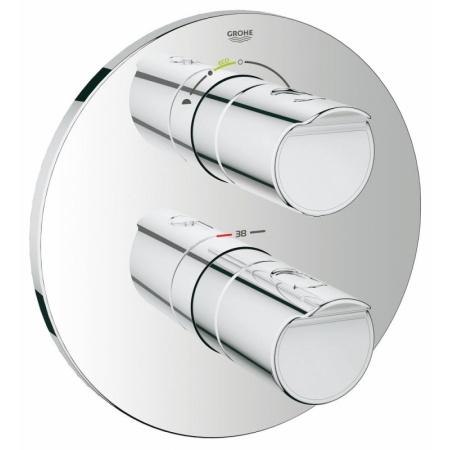 Grohe Grohtherm 2000 Dwuuchwytowa bateria wannowo-prysznicowa podtynkowa termostatyczna do obsługi wiecej niż jednego wyjścia wody, chrom 19355001