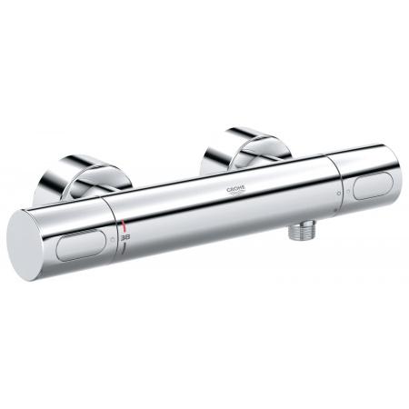 Grohe Grohtherm 3000 Cosmopolitan Dwuuchwytowa bateria prysznicowa natynkowa termostatyczna, chrom 34274000