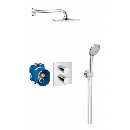 Grohe Grohtherm 3000 Cosmopolitan Zestaw prysznicowy, chrom 34408000