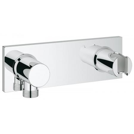 Grohe Grohtherm F Prysznicowe przyłącze ścienne ze zintegrowanym uchwytem prysznica, chrom 27621000