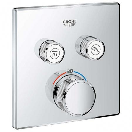 Grohe Grohtherm SmartControl Bateria wannowo-prysznicowa podtynkowa z termostatem chrom 29124000
