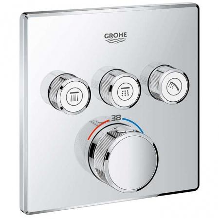 Grohe Grohtherm SmartControl Bateria wannowo-prysznicowa podtynkowa, chrom 29126000