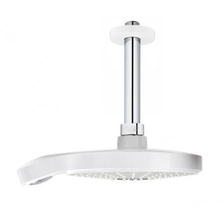 Grohe Power&Soul Cosmopolitan Deszczownica z przepustem stropowym 19x19 cm, chrom/biała 26173LS0