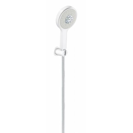 Grohe Power&Soul Cosmopolitan Zestaw prysznicowy natynkowy biały 26174LS0