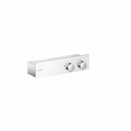 Hansgrohe ShowerTablet 350 Bateria prysznicowa z termostatem natynkowa, chrom/biała 13102400