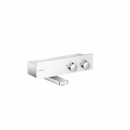 Hansgrohe ShowerTablet 350 Dwuuchwytowa bateria wannowa natynkowa termostatyczna, chrom/biała 13107400