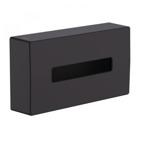 Hansgrohe AddStoris Pudełko na chusteczki czarny mat 41774670