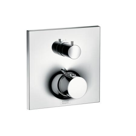 Axor Massaud Jednouchwytowa bateria prysznicowa termostatyczna podtynkowa z zaworem odcinającym, chrom 18745000