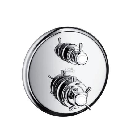 Axor Montreux Jednouchwytowa bateria wannowo-prysznicowa termostatyczna podtynkowa z zaworem odcinająco-przełączającym, chrom 16820000