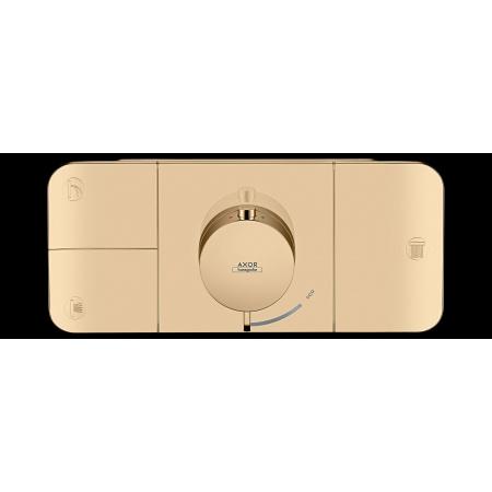 Hansgrohe Axor One Bateria wannowo-prysznicowa podtynkowa termostatyczna brąz polerowany 45713130