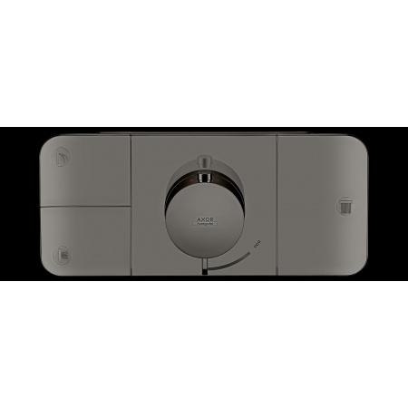 Hansgrohe Axor One Bateria wannowo-prysznicowa podtynkowa termostatyczna czarny chrom polerowany 45713330