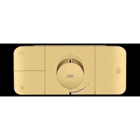 Hansgrohe Axor One Bateria wannowo-prysznicowa podtynkowa termostatyczna mosiądz polerowany 45713930