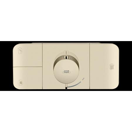 Hansgrohe Axor One Bateria wannowo-prysznicowa podtynkowa termostatyczna nikiel polerowany 45713830