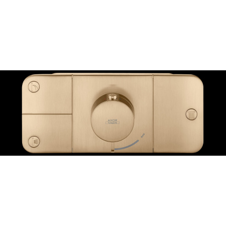 Hansgrohe Axor One Bateria wannowo-prysznicowa podtynkowa termostatyczna brąz szczotkowany 45713140