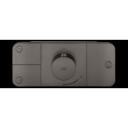 Hansgrohe Axor One Bateria wannowo-prysznicowa podtynkowa termostatyczna czarny chrom szczotkowany 45713340