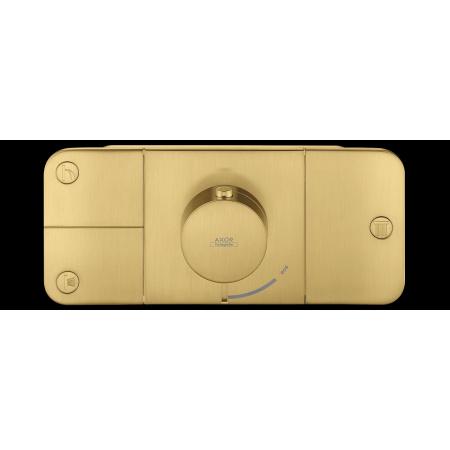 Hansgrohe Axor One Bateria wannowo-prysznicowa podtynkowa termostatyczna mosiądz szczotkowany 45713950