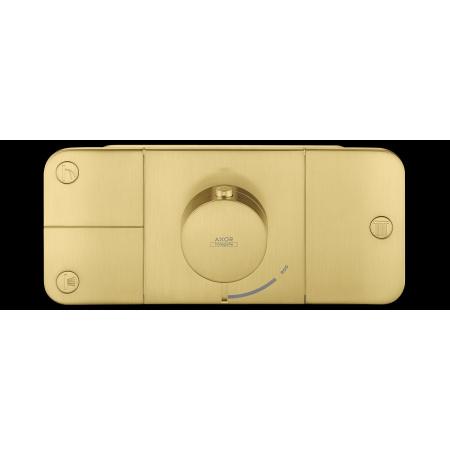Hansgrohe Axor One Bateria wannowo-prysznicowa podtynkowa termostatyczna złoty szczotkowany 45713250