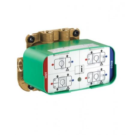 Axor One Zestaw podstawowy do modułu z termostatem, 45710180